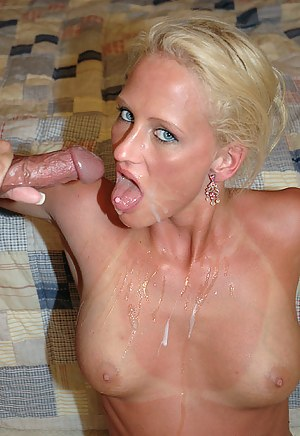 MILF Cum in Mouth XXX Pictures