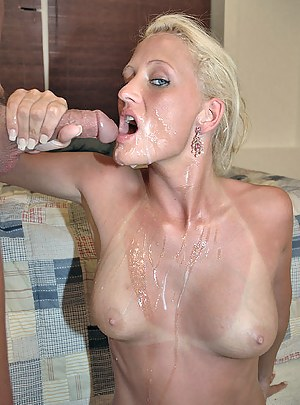 Cum on MILF Tits XXX Pictures