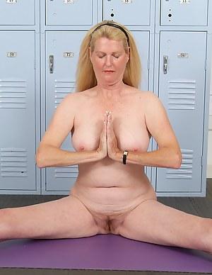 Yoga MILF XXX Pictures